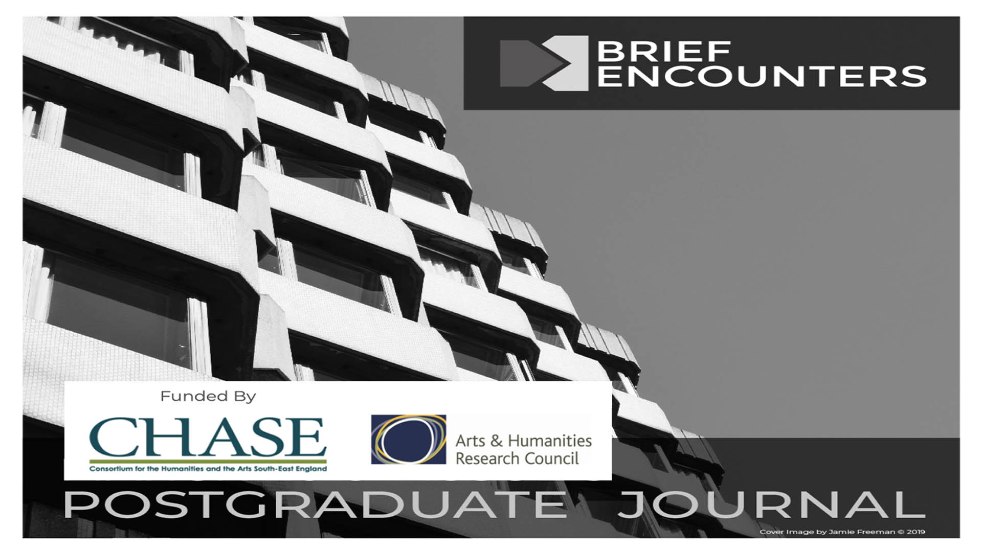 Communication editor at the 'Brief Encounters' a postgraduate journal